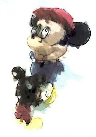 """Ruxandra Malvaloba, """"Mickey Mouses"""", 2007"""