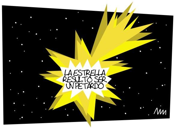 """Llamamaname, """"La estrella resultó ser un petardo"""", 2012"""
