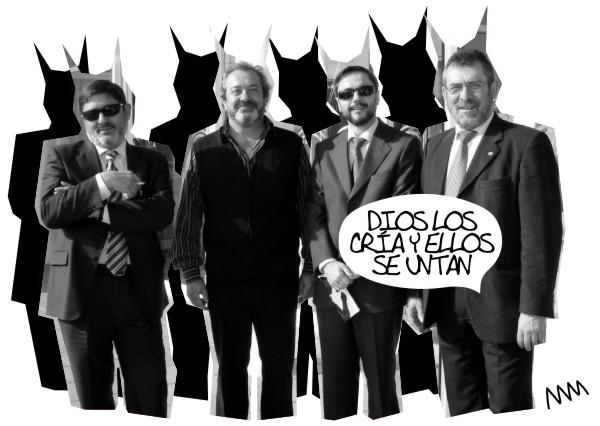 """Manola, """"Dios los cría y ellos se untan"""", 2012"""