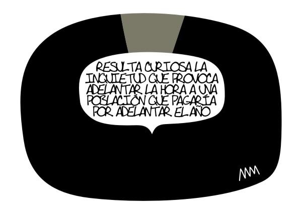 """Manola, """"Cambio hora por año"""", 2012"""