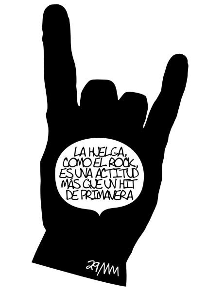 "Manola, ""29M, Huelga General"", 2012"