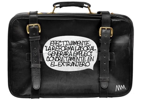 """Manola, """"La reforma laboral generará empleo"""", 2012"""