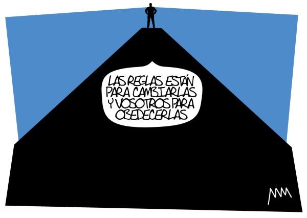 """Manola, """"Las reglas están para cambiarlas"""", 2012"""