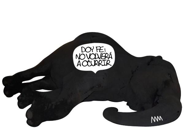 """Manola, """"No volverá a ocurrir"""", 2012"""