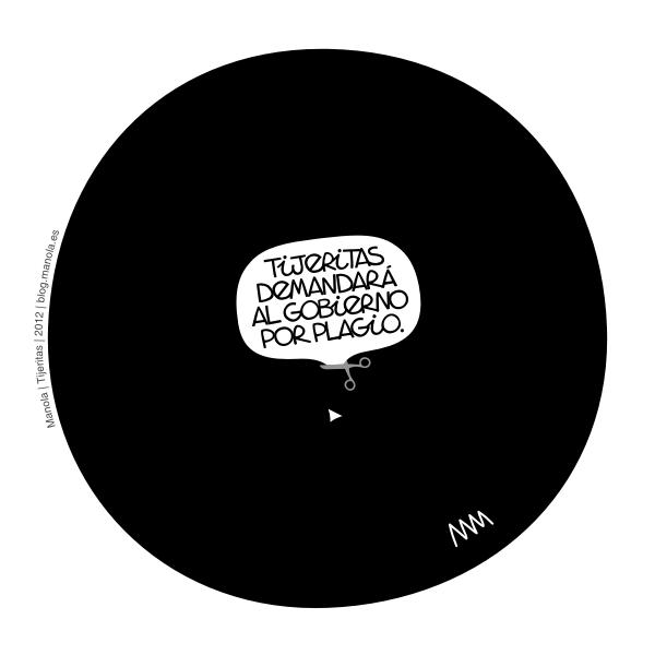 "Manola, ""Tijeritas"", 2012"
